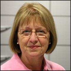 unsere Mitarbeiterin Brigitte Löschner